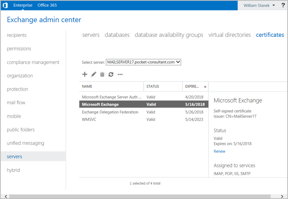 Microsoft Exchange Server 2013 Accessing And Using Exchange Admin
