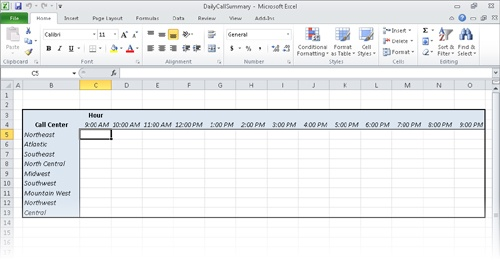 Microsoft Excel 2010 : Consolidating Multiple Sets of Data into a Single Workbook - Microsoft ...