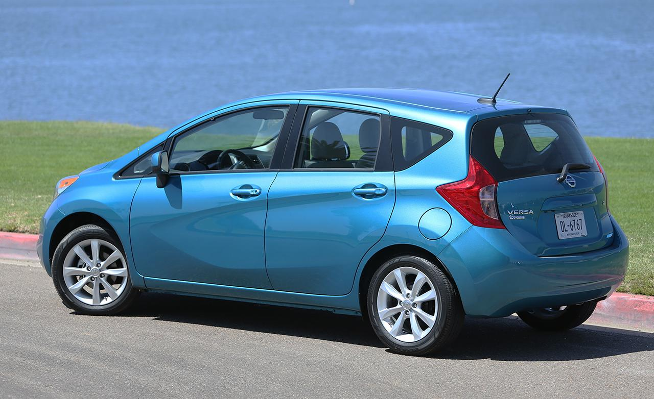 2014 nissan versa note revealed the news articles reviews comments prices of cars and. Black Bedroom Furniture Sets. Home Design Ideas