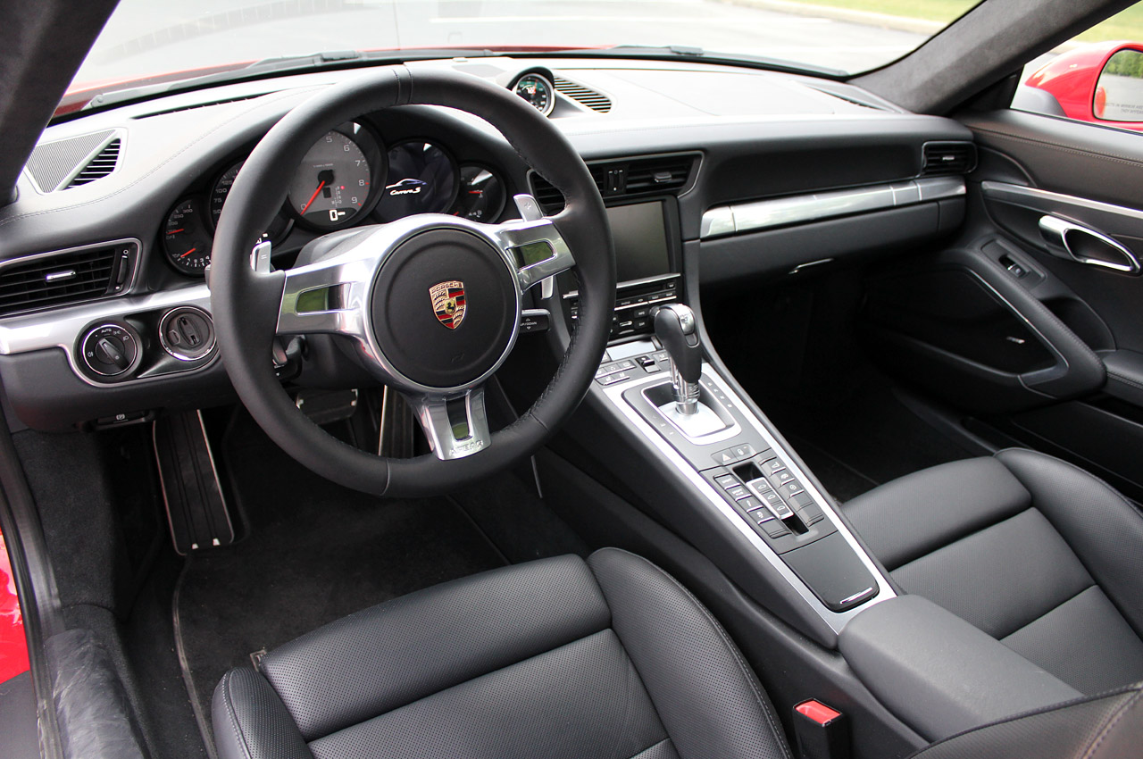 2013 porsche 911 carrera interior view - 911 Porsche 2014 Interior