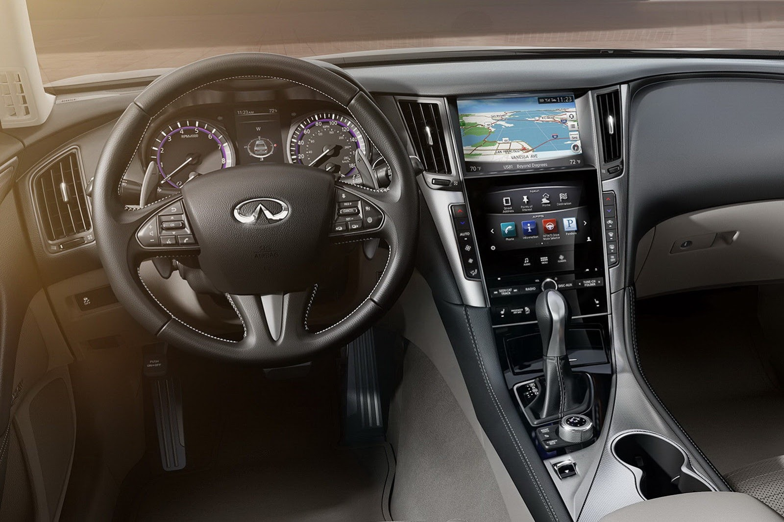 2014 infiniti q50 looks elegant the news articles reviews comments prices of cars and. Black Bedroom Furniture Sets. Home Design Ideas