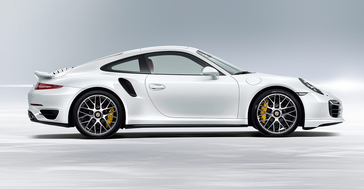 2014 porsche 911 turbo s side angle - 911 Porsche 2014 Price