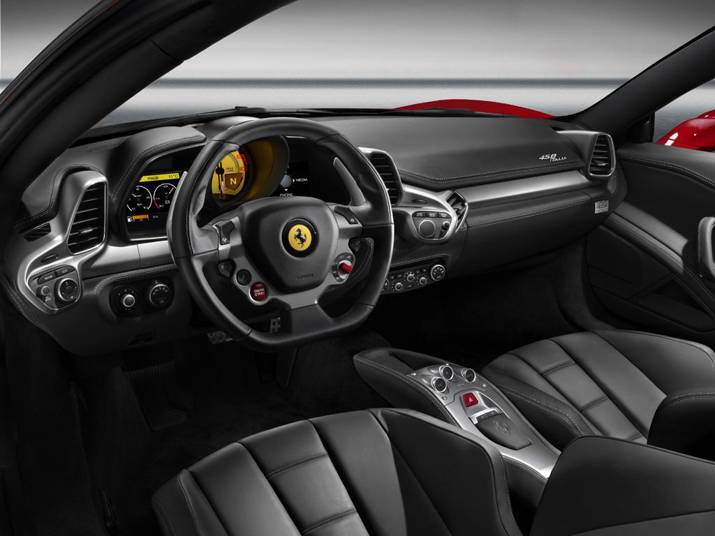 2014 ferrari 458 dashboard interior - Ferrari 2014 Enzo Interior