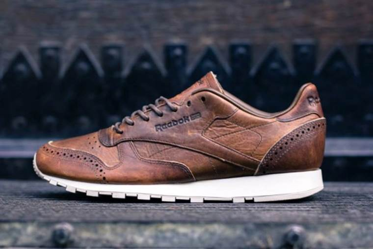 Reebok Classic x Horween Leather Co. Brogue Selection The