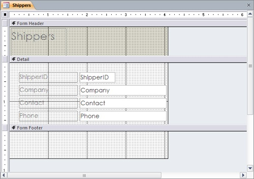 Microsoft Access 2010 : Create Custom Forms (part 1