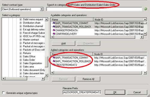BizTalk Server 2010 : Building a BizTalk application — BAPI