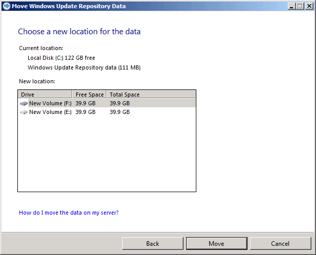 Windows Small Business Server 2011 : Configuring WSUS Using