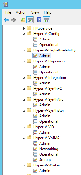 Windows Server 2012 : Using Event Viewer for Hyper-V troubleshooting