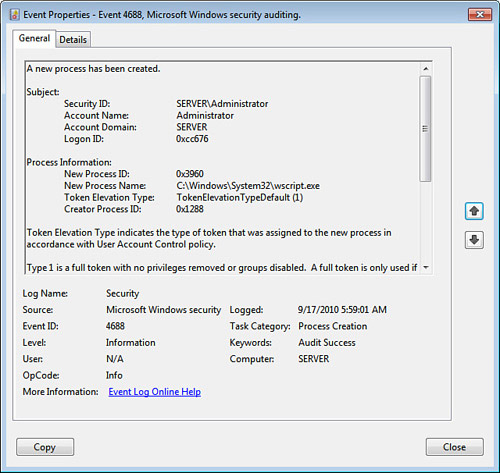 Enabling Security Auditing on Windows Home Server (part 2
