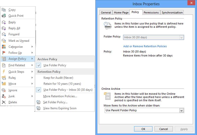 Microsoft Exchange Server 2013 : Messaging records