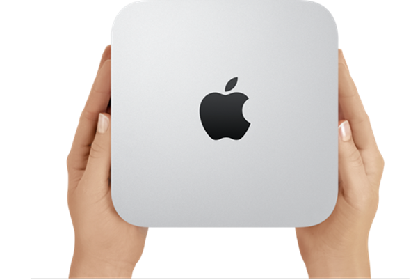 Description: Description: Description: Apple has added a Thunderbolt port to its Mac mini desktop, which sports new processors and discrete graphics as well.