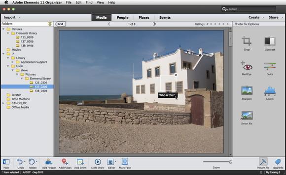 Description: Adobe Elements 11 Organizer