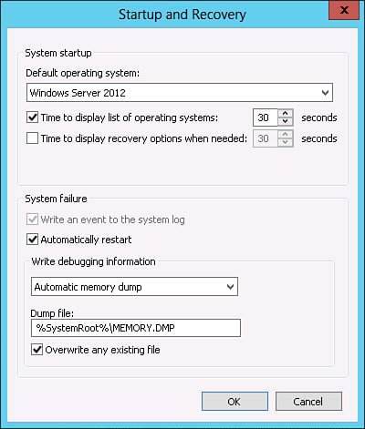 Using the Debugging Tools Available in Windows Server 2012 : System