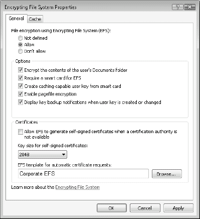 Windows Vista : Using the Encrypting File System (part 3