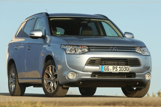 The Mitsi PHEV is a plug-in hybrid