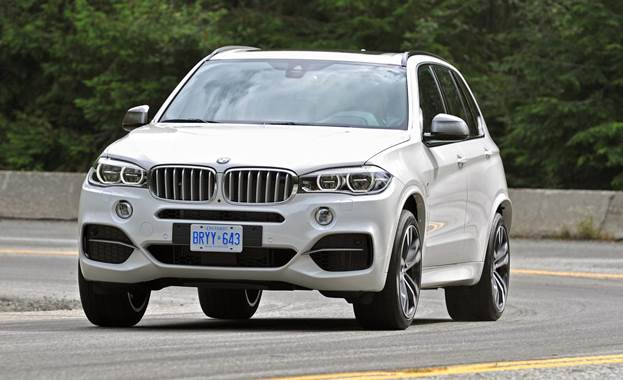 The X5 managed a mighty impression of the ultimate driving monster truck