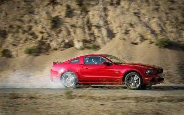 The Mustang doesn't have a strict service schedule. Rather, the engine computer determines when a service is necessary