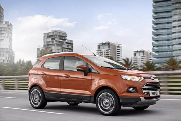 Youthful, modern, proportionate and well-executed are the words that describe the overall design of the EcoSport quite well