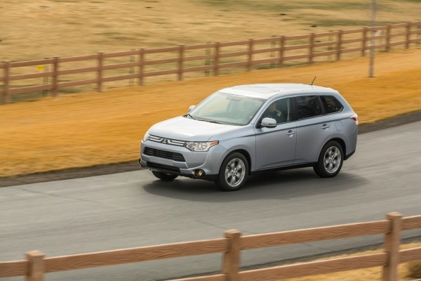 The Outlander PHEV has a 12kWh lithium-ion battery pack