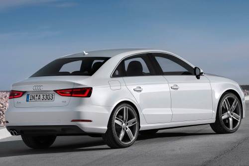That's an A4 person. For you, Audi has just the thing: the A3 sedan. Which only the cynics will call a cramped A4