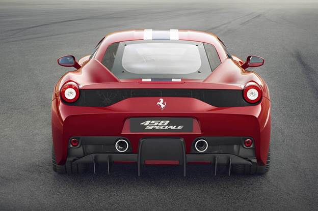 458's delicate aero comes into its own on the racetrack