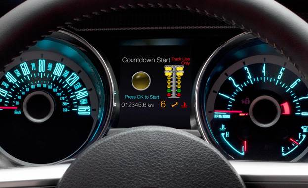 The Stang hit 60 mph in 4.5 seconds and made a 13.0-second quarter-mile pass at 111 mph – the best acceleration we've ever recorded in a GT