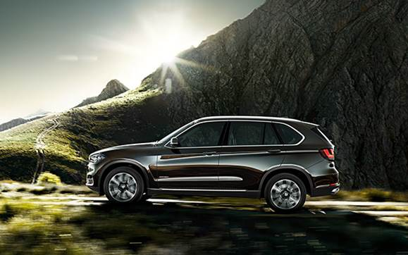 New X5 can be had in Pirate Brown paint scheme. Hidden treasure is extra…